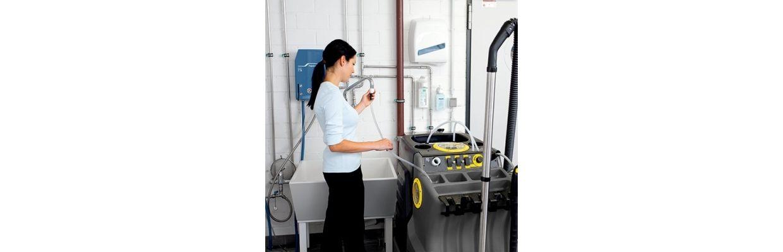 Verschil professionele Kärcher apparaten en de Kärcher consumentenlijn