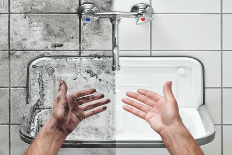 Warm- of koudwater hogedruk reinigen?